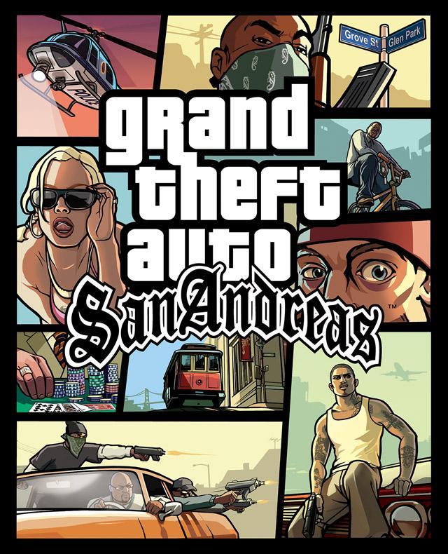 GTA San Andreas poster