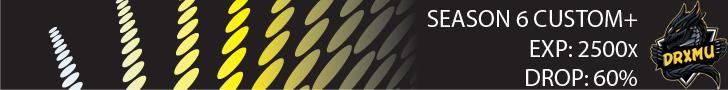 DRXMu Season VI Custom XP: 2500 Drop 60%